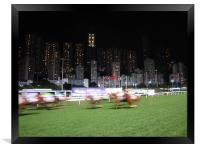 At The Races, Framed Print