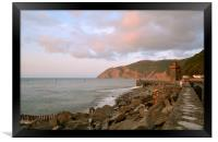 A Lynmouth Evening , Framed Print