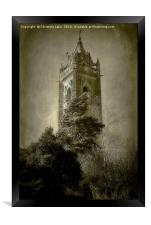 The Tower On The Hill, Framed Print