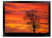 Norfolk Sunrise, Framed Print