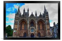 Peterborough Cathedral, Framed Print