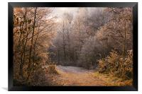 A Fine Winters morning, Framed Print