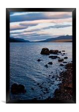 Evening On Loch Rannoch, Framed Print