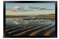 Saunton Sands Devon, Framed Print