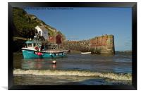 Porthgain in Wales, Framed Print