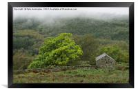 Misty Duddon Valley, Framed Print