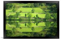 Reflections on Rydal Water, Framed Print