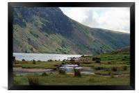 Across Wastwater Lake, Framed Print
