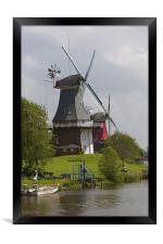 Windmills, Framed Print