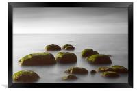 Rocks at Hunstanton, Framed Print