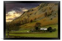 Little House in the lake District, Framed Print