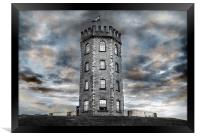 Jersey Marine Tower, Framed Print