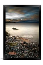 Pebbles to the Forth, Framed Print