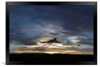 Vulcan Take Off, Framed Print