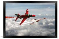 2014 Red Arrows, Framed Print