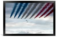 Red Arrows and Gnats, Framed Print