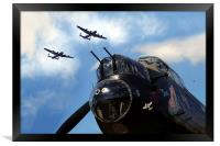 3 Sisters at Kirkby , Framed Print