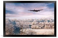 Lancaster Winter , Framed Print