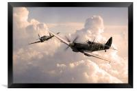 Spitfire Angels , Framed Print