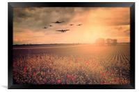 Warbird Fly Past, Framed Print