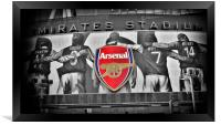 Emirates Stadium, Framed Print