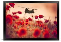 Chinook Tribute, Framed Print