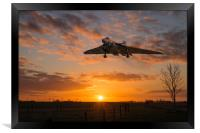 XH558 Comes Home, Framed Print