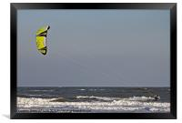 Kite Surfer II, Framed Print