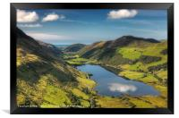 Tal y llyn reflection, Framed Print