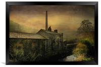 The Old Mill, Framed Print