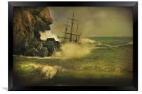 Ship Wrecked !!, Framed Print