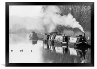 The Gloucester and Sharpness Canal, Framed Print
