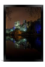 Durham Cathedral Lumiere, Framed Print