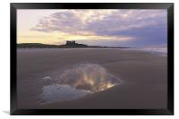 Bamburgh Castle, Framed Print