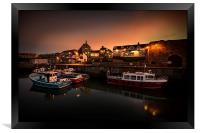 Seahouses Harbour, Framed Print