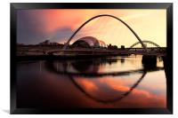 Newcastle Quayside, Framed Print