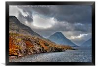 The Lakes - Wast Water, Framed Print