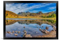 Blea Tarn Lake District, Framed Print