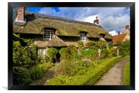 A Country Cottage, Framed Print