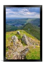 Views Of haweswater, Framed Print