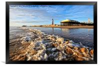 Blackpool By The Sea, Framed Print