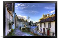 The High Street from East Terrace, Framed Print