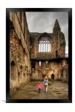 Learning History at a Young Age, Framed Print