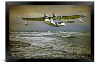 Catalina Flying Boat, Framed Print