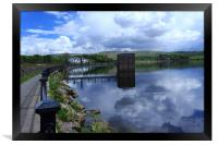 Hollingworth Lake Vista, Framed Print