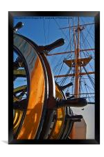 Before the mast., Framed Print