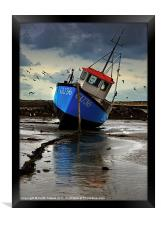 Fishing Boat 3 Canvases & Prints, Framed Print
