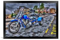 Motorcycle Rally 1, Framed Print