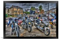 Motorcycle Rally 3, Framed Print