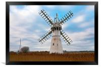 Thurne Mill, Framed Print